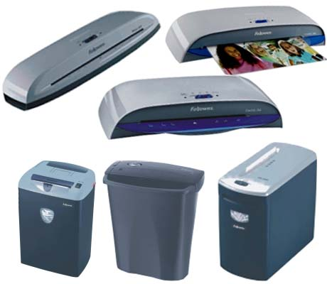 Laminators & Shredders